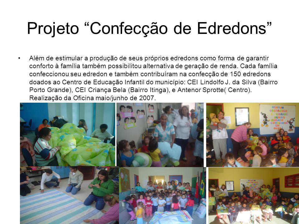 Projeto Confecção de Edredons