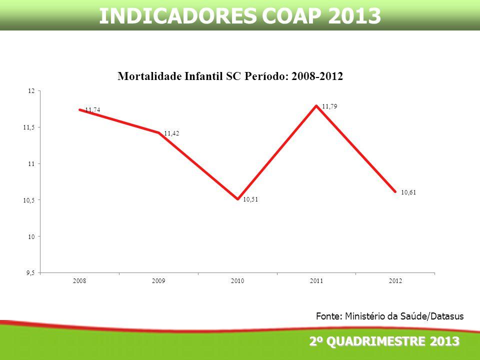 INDICADORES COAP 2013 2º QUADRIMESTRE 2013