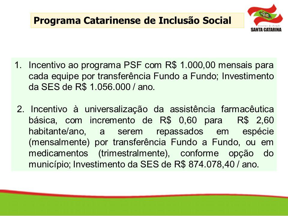 Programa Catarinense de Inclusão Social