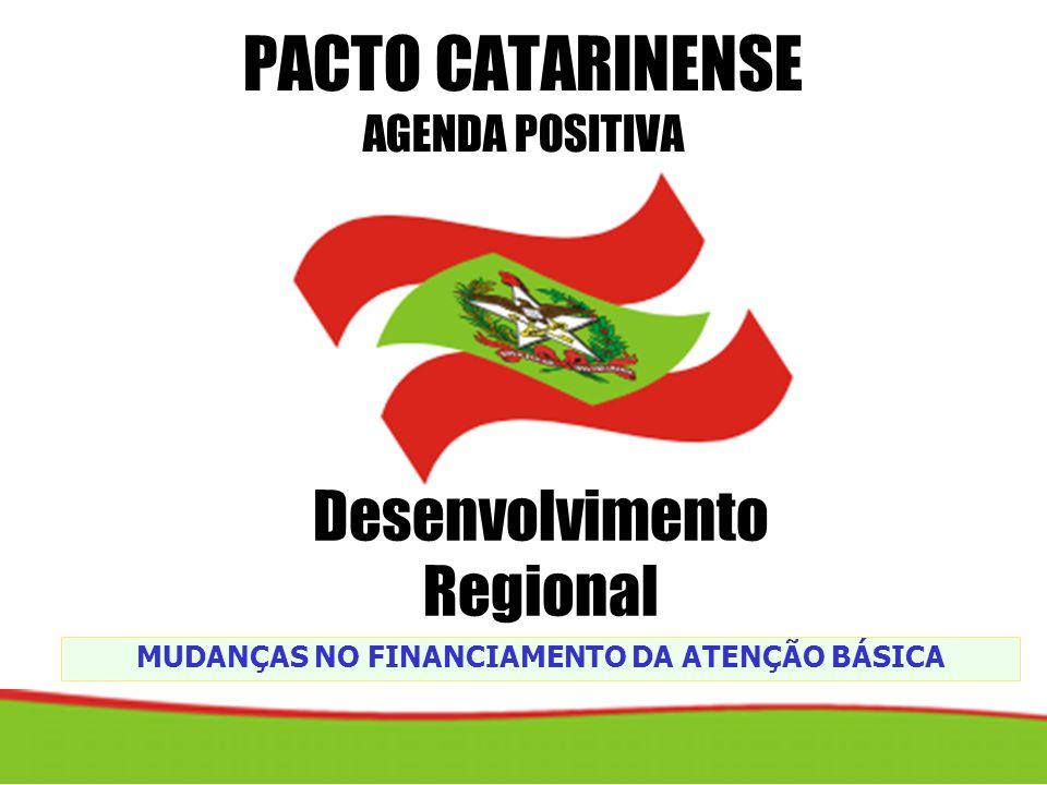 PACTO CATARINENSE AGENDA POSITIVA
