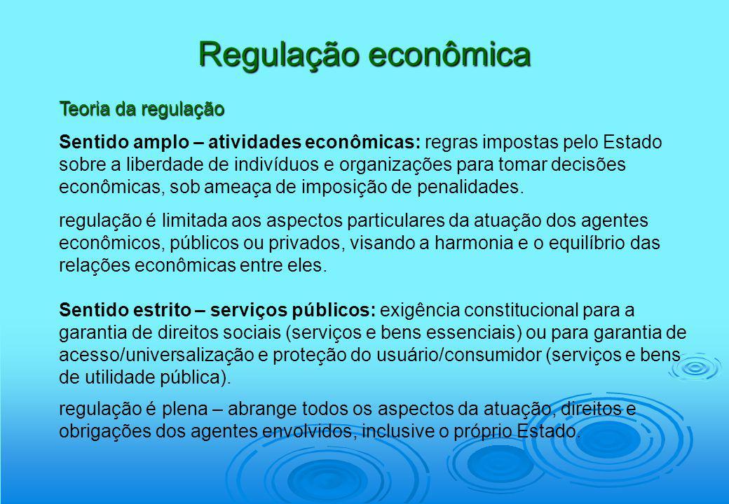 Regulação econômica Teoria da regulação