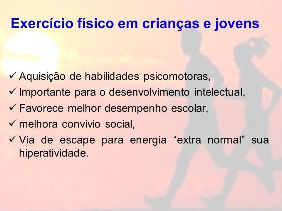 Exercício físico em crianças e jovens