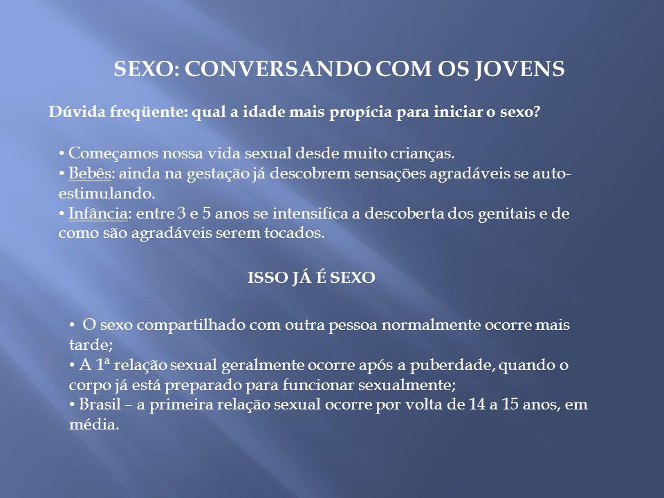 SEXO: CONVERSANDO COM OS JOVENS
