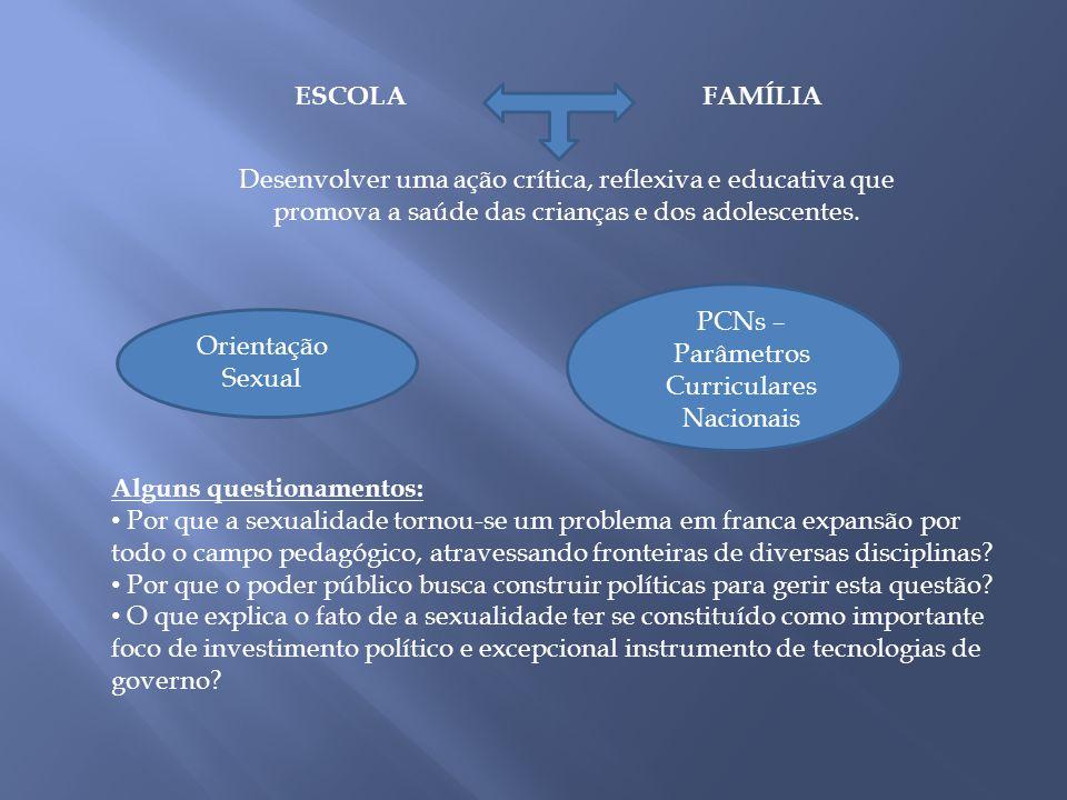 PCNs – Parâmetros Curriculares Nacionais