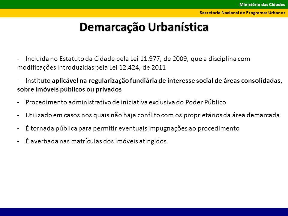 Demarcação Urbanística