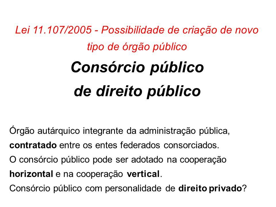 Consórcio público de direito público