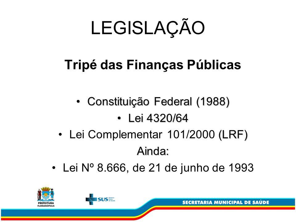 Tripé das Finanças Públicas
