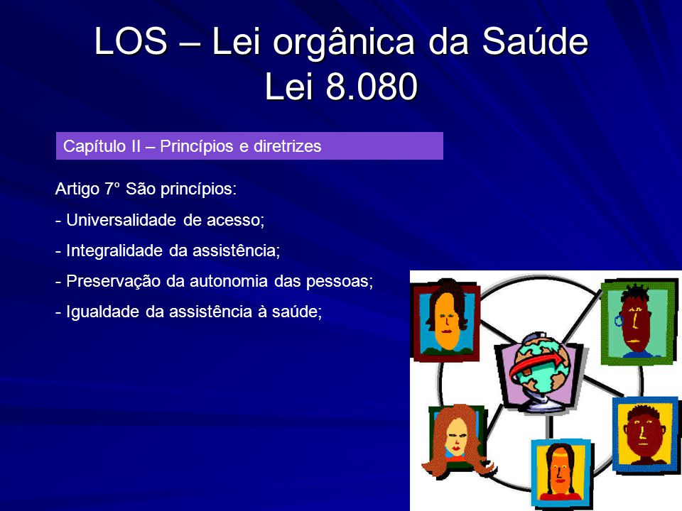 LOS – Lei orgânica da Saúde Lei 8.080