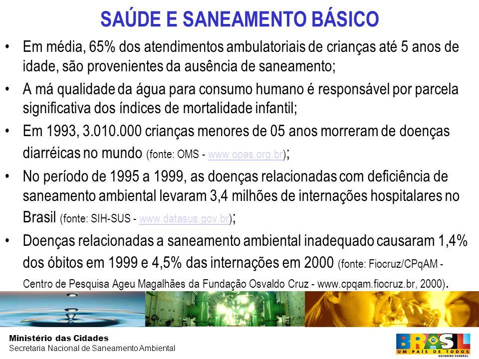 SAÚDE E SANEAMENTO BÁSICO