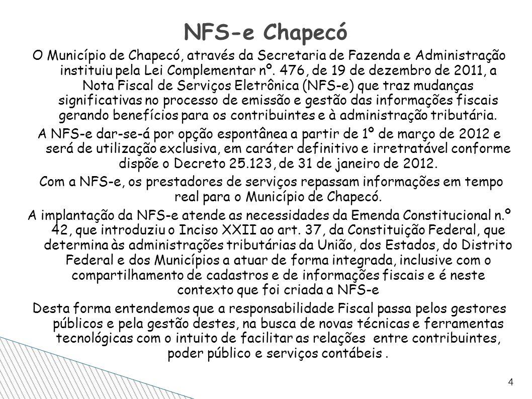 NFS-e Chapecó
