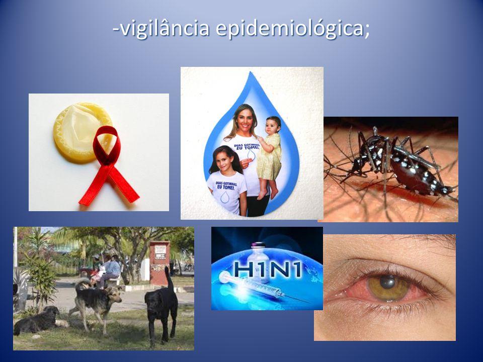 -vigilância epidemiológica;