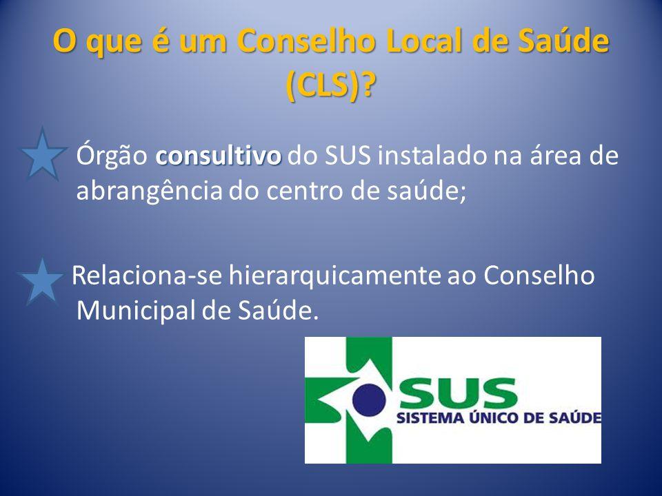O que é um Conselho Local de Saúde (CLS)
