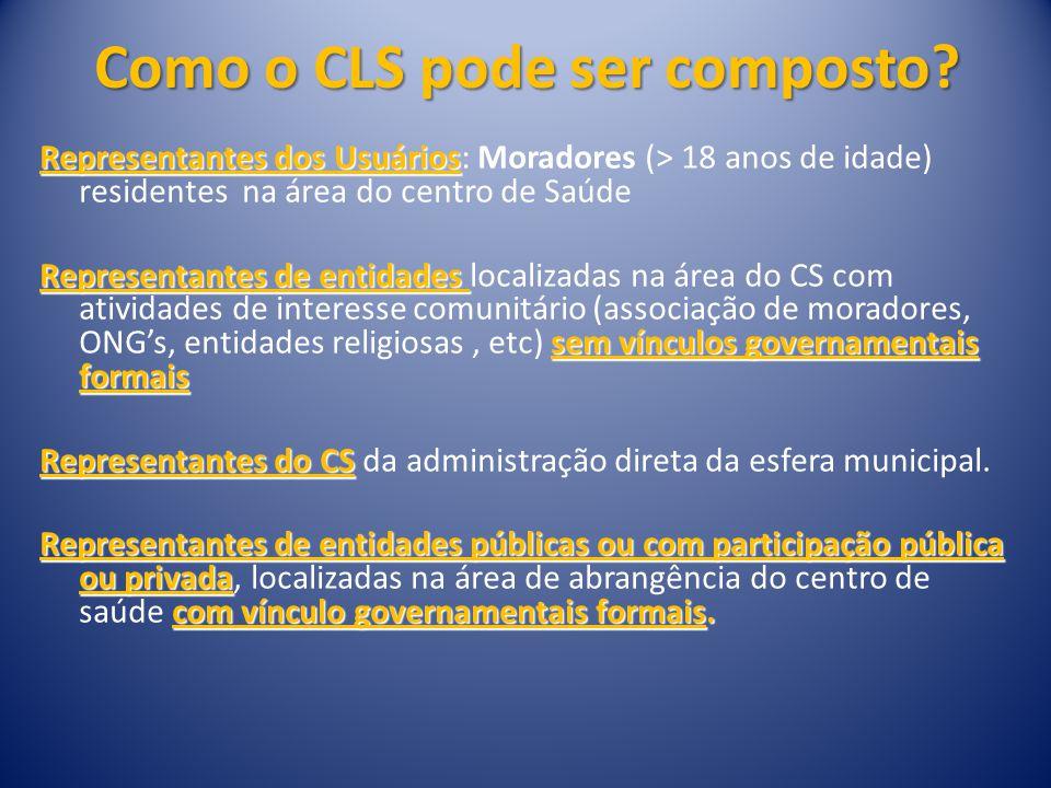 Como o CLS pode ser composto