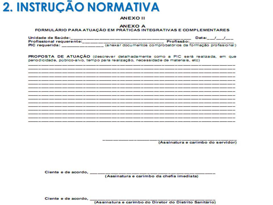 2. INSTRUÇÃO NORMATIVA 8