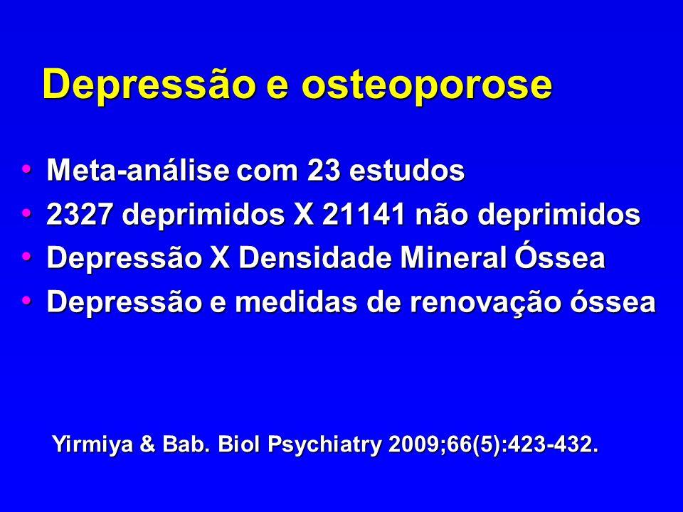 Depressão e osteoporose