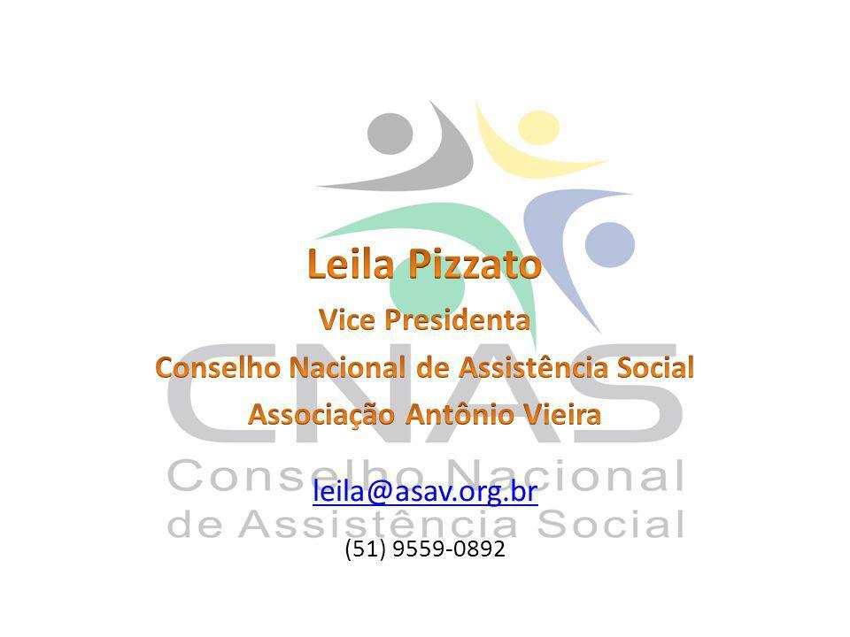 Conselho Nacional de Assistência Social Associação Antônio Vieira