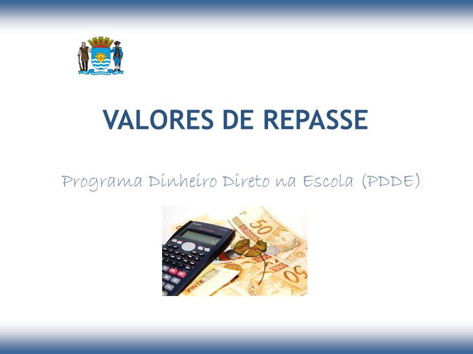 VALORES DE REPASSE 9