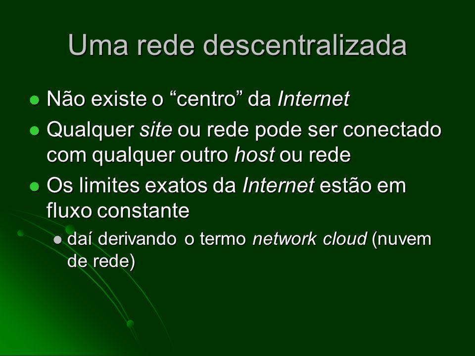 Uma rede descentralizada