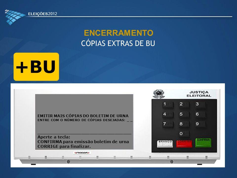+BU ENCERRAMENTO CÓPIAS EXTRAS DE BU
