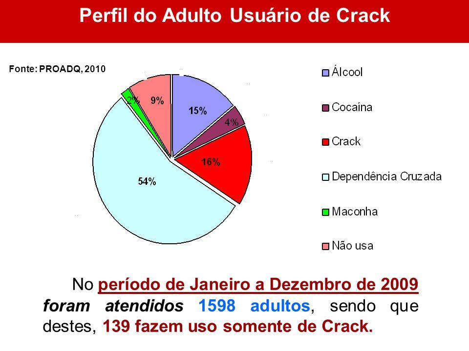 Perfil do Adulto Usuário de Crack