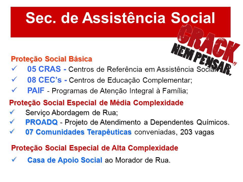 Sec. de Assistência Social