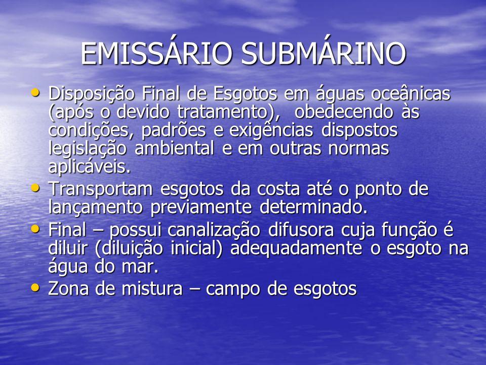EMISSÁRIO SUBMÁRINO
