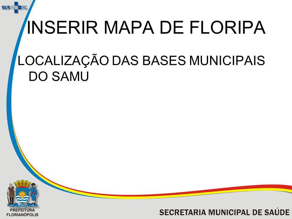 INSERIR MAPA DE FLORIPA
