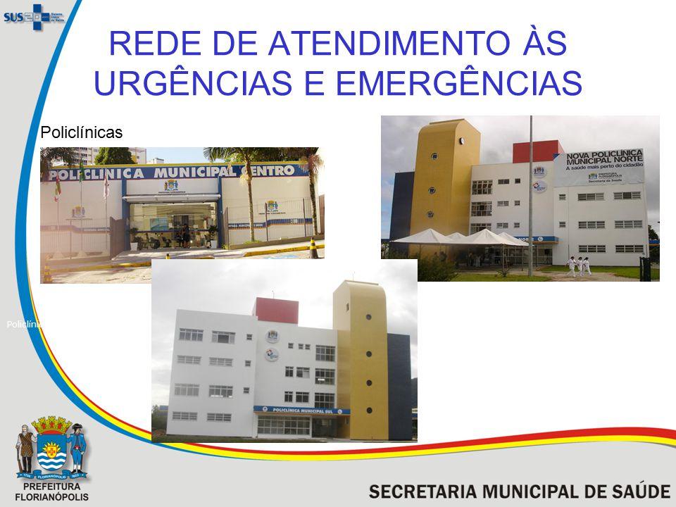 REDE DE ATENDIMENTO ÀS URGÊNCIAS E EMERGÊNCIAS