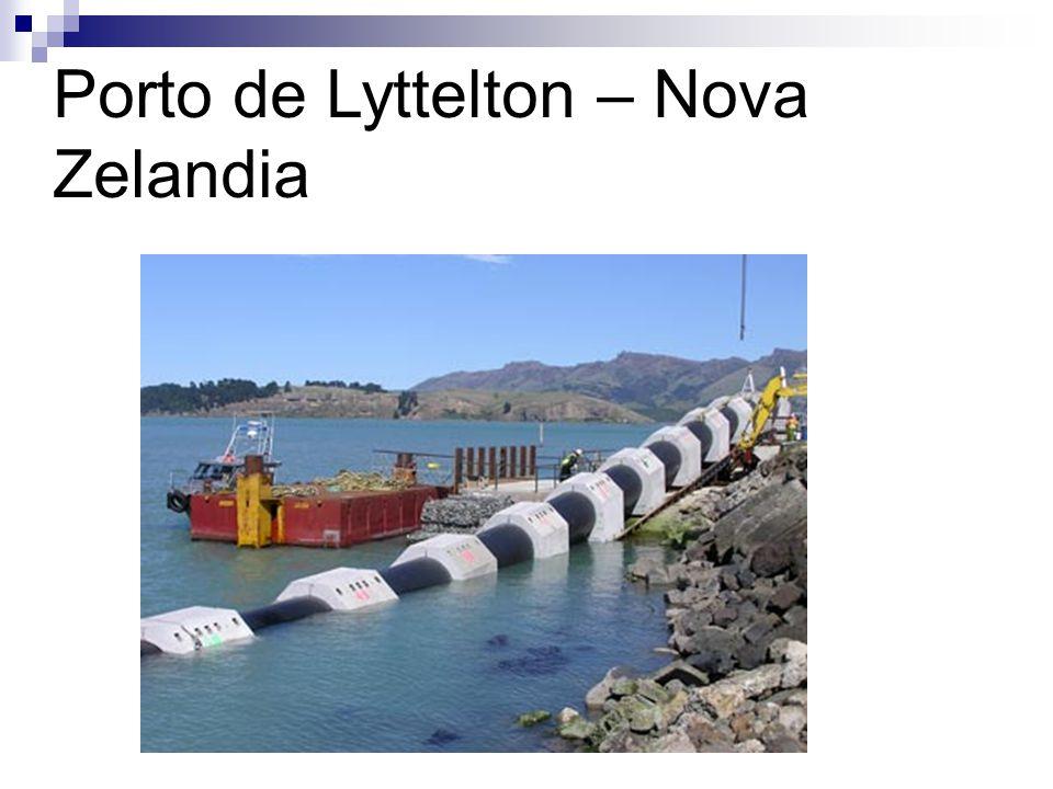 Porto de Lyttelton – Nova Zelandia