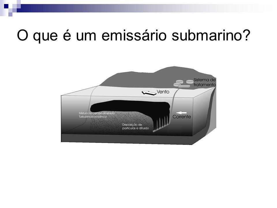 O que é um emissário submarino