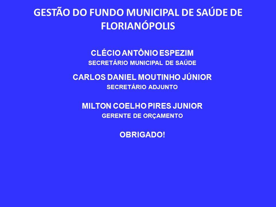 GESTÃO DO FUNDO MUNICIPAL DE SAÚDE DE FLORIANÓPOLIS