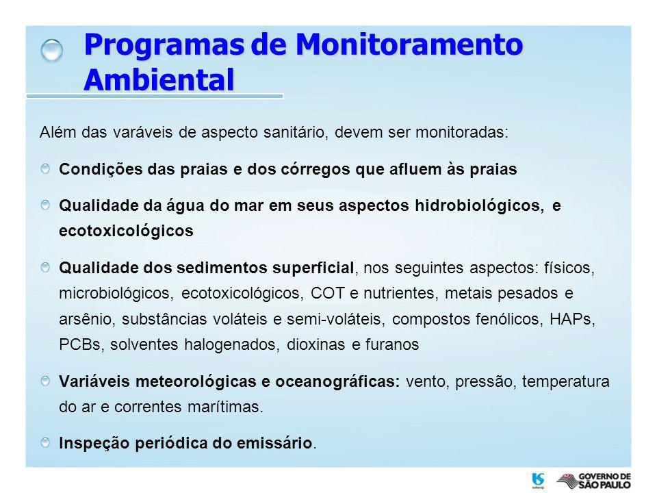 Programas de Monitoramento Ambiental