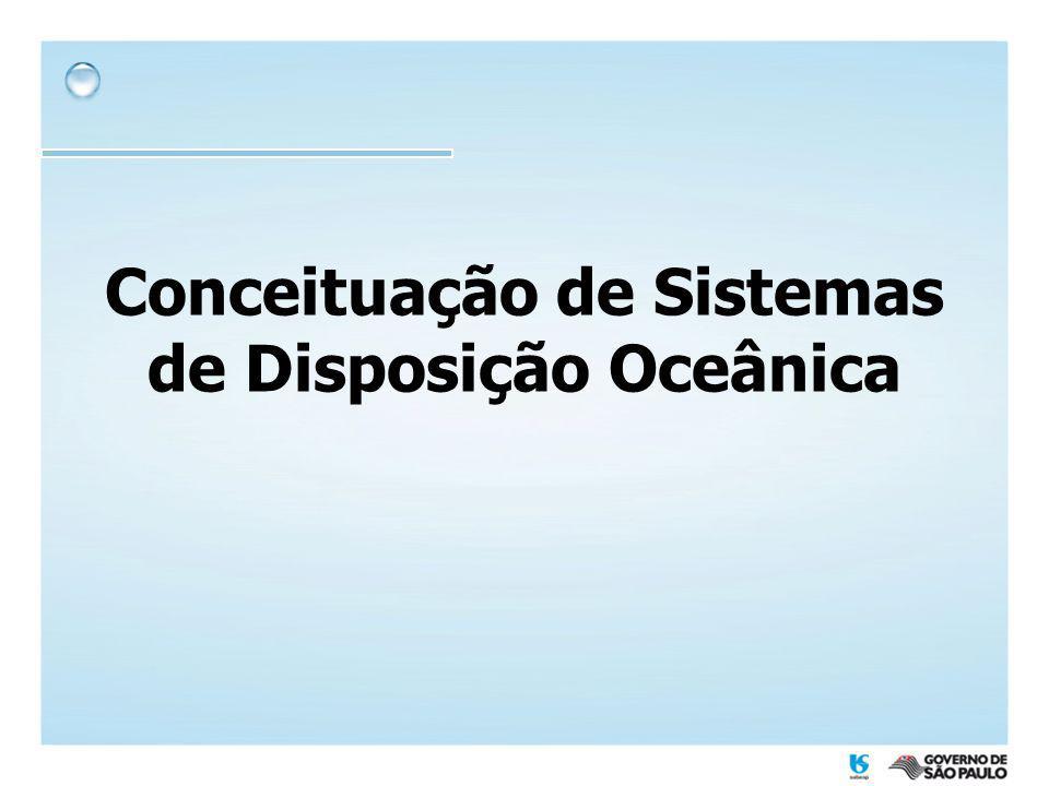 Conceituação de Sistemas de Disposição Oceânica