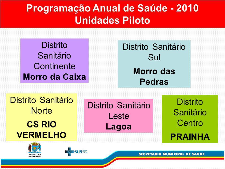 Programação Anual de Saúde - 2010