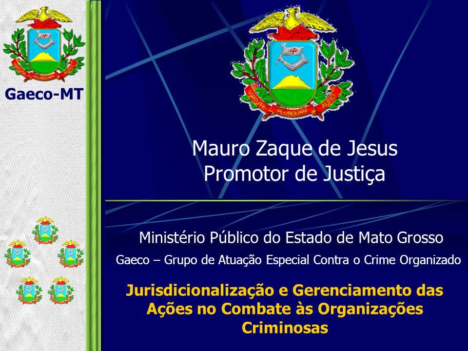 Mauro Zaque de Jesus Promotor de Justiça