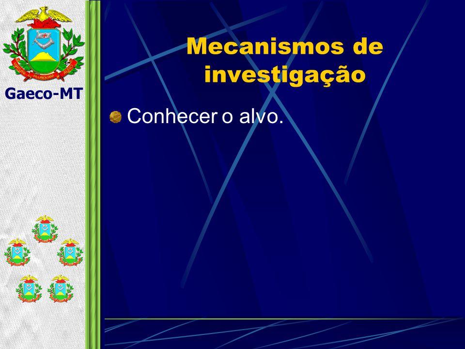 Mecanismos de investigação