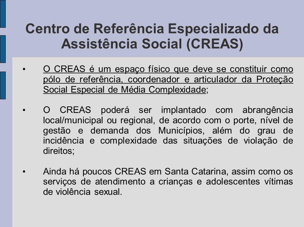Centro de Referência Especializado da Assistência Social (CREAS)