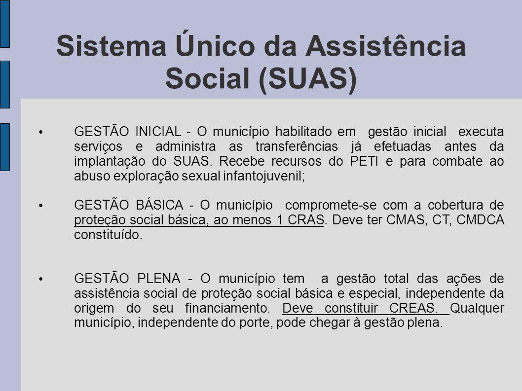 Sistema Único da Assistência Social (SUAS)