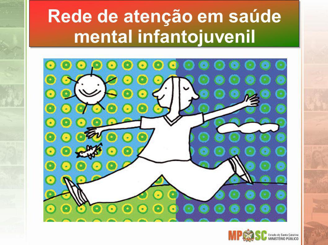 Rede de atenção em saúde mental infantojuvenil