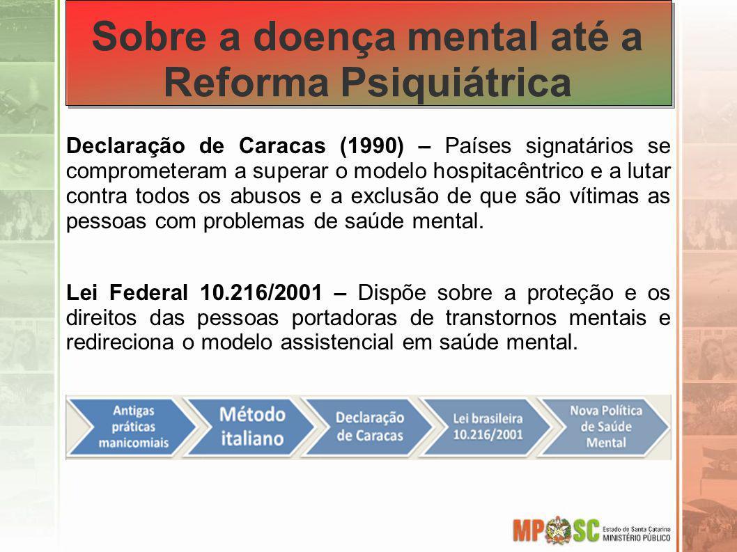 Sobre a doença mental até a Reforma Psiquiátrica
