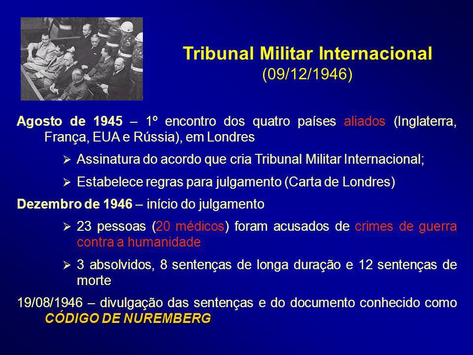 Tribunal Militar Internacional (09/12/1946)