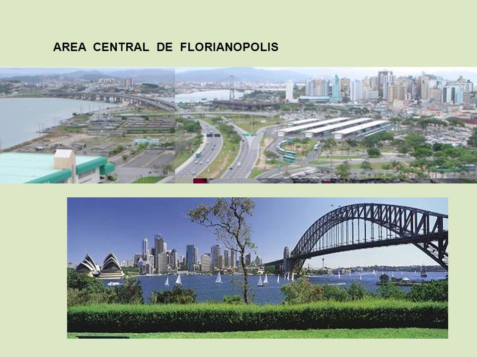 AREA CENTRAL DE FLORIANOPOLIS