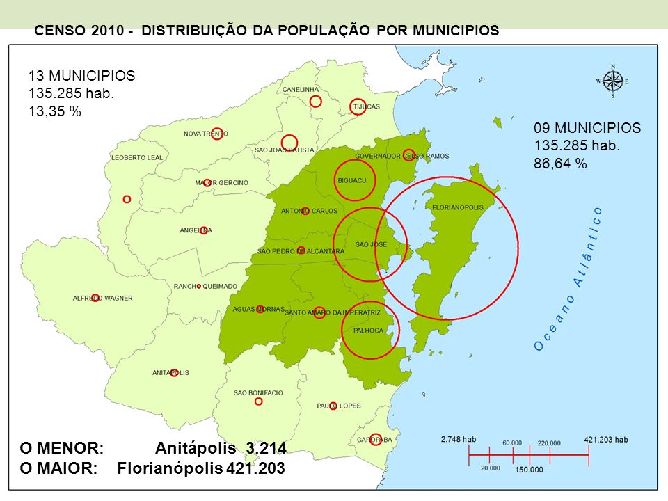 O MAIOR: Florianópolis 421.203