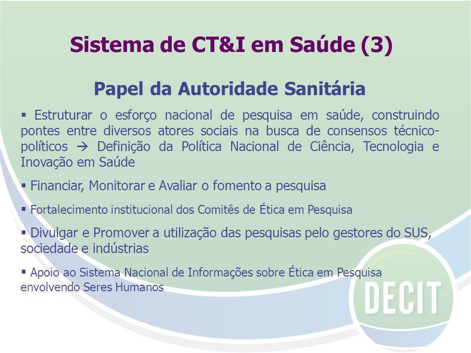 Sistema de CT&I em Saúde (3)