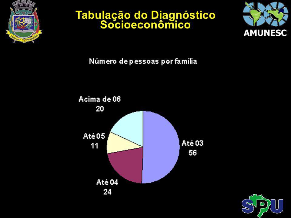 Tabulação do Diagnóstico Socioeconômico