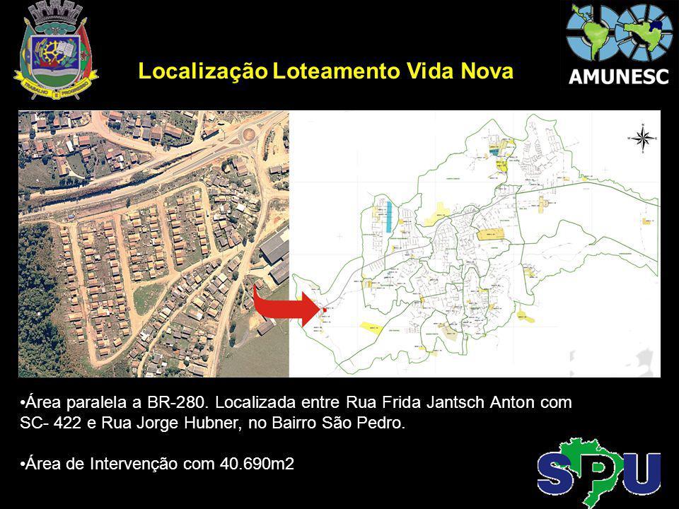 Localização Loteamento Vida Nova