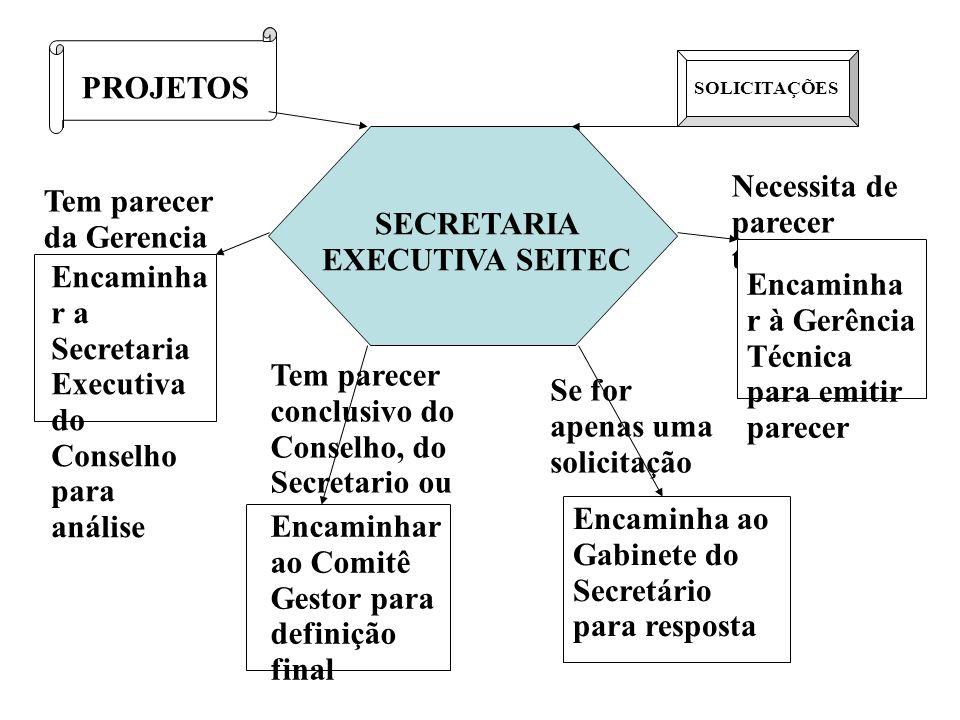 SECRETARIA EXECUTIVA SEITEC