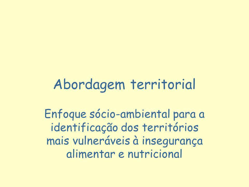 Abordagem territorial