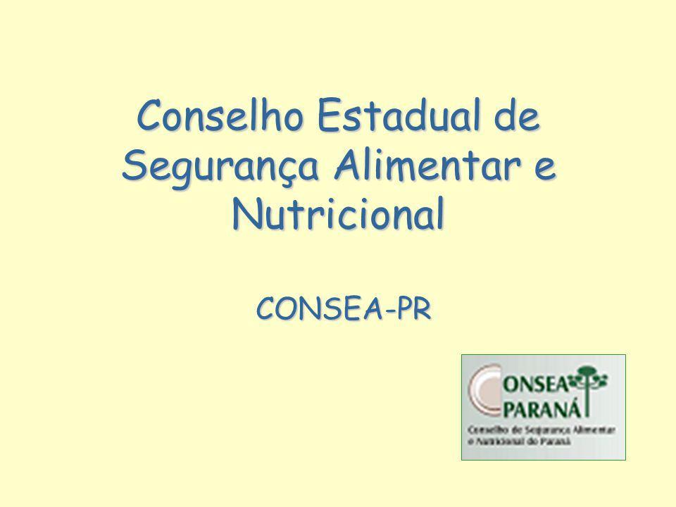 Conselho Estadual de Segurança Alimentar e Nutricional