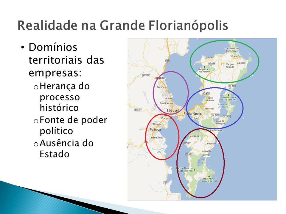 Realidade na Grande Florianópolis